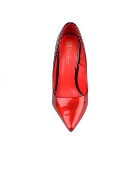 Червени дамски елегантни обувки Vidhut в online магазин Fashionzona