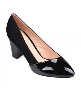 Черни дамски елегантни обувки Mayukhi в online магазин Fashionzona