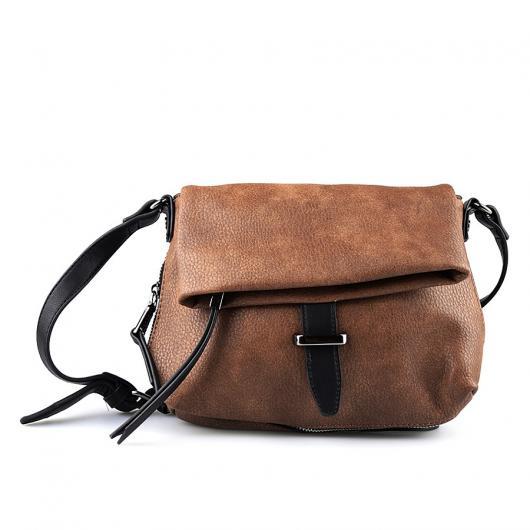 Кафява дамска ежедневна чанта Kirsty