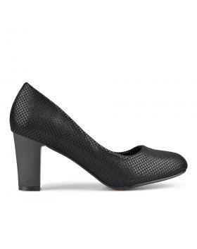 Черни дамски елегантни обувки Chanelle в online магазин Fashionzona