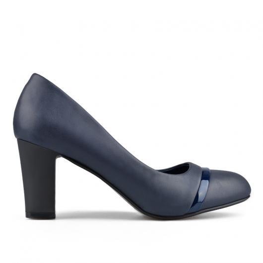 Сини дамски елегантни обувки Malina