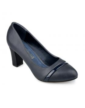 Сини дамски елегантни обувки Malina в online магазин Fashionzona