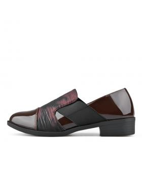 Червени дамски ежедневни обувки Yashoda в online магазин Fashionzona