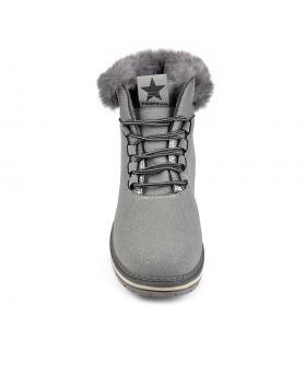 Сиви дамски ежедневни боти 0135495 в online магазин Fashionzona