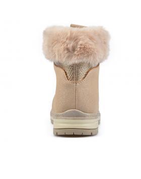 Бежови дамски ежедневни боти 0135494 в online магазин Fashionzona