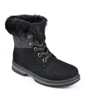 Черни дамски ежедневни боти 0135499 в online магазин Fashionzona