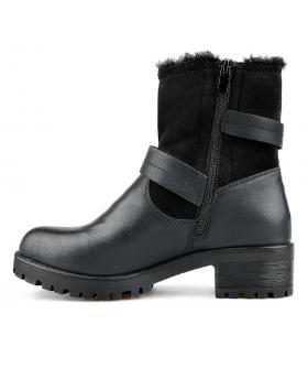 Черни дамски ежедневни боти 0135680 в online магазин Fashionzona