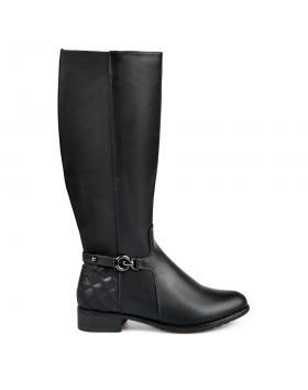 Черни дамски ежедневни ботуши 0135314 в online магазин Fashionzona