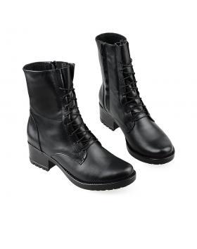Черни дамски ежедневни боти Majori в online магазин Fashionzona