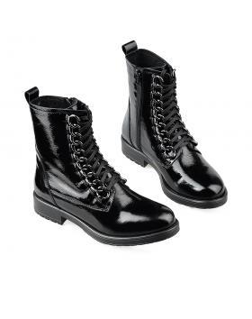 Черни дамски ежедневни боти top69 в online магазин Fashionzona