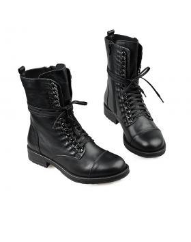 Черни дамски ежедневни боти top65 в online магазин Fashionzona