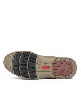 Кафяви мъжки ежедневни боти с топъл хастар 0135760 в online магазин Fashionzona