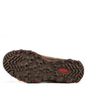 Кафяви мъжки ежедневни боти с топъл хастар 0135782 в online магазин Fashionzona