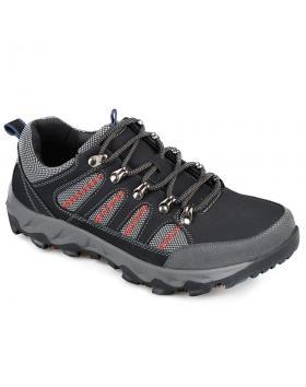 Черни мъжки ежедневни обувки Raymon в online магазин Fashionzona