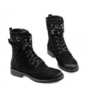 Черни дамски ежедневни боти top48 в online магазин Fashionzona