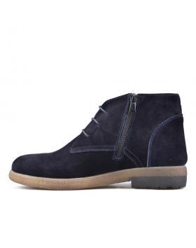 Тъмно сини дамски ежедневни боти 0136394 в online магазин Fashionzona