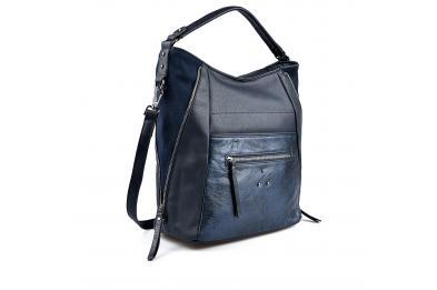 Синя дамска ежедневна чанта 0135415
