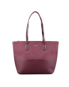 Бордо дамска ежедневна чанта Olly в online магазин Fashionzona