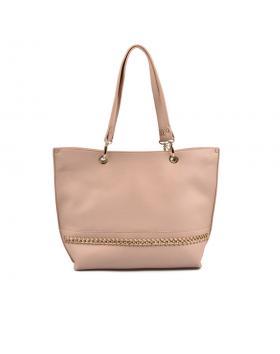 Бежова дамска ежедневна чанта Filomena в online магазин Fashionzona