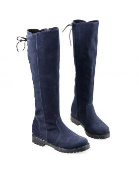Сини дамски ежедневни битуши Brynlee в online магазин Fashionzona