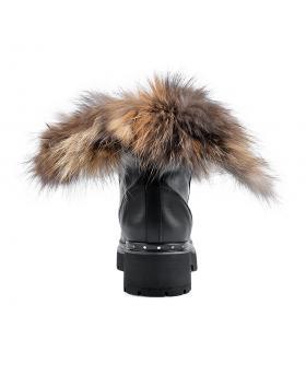 Черни дамски ежедневни боти Coralee в online магазин Fashionzona