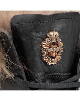 Черни дамски ежедневни боти Sherry в online магазин Fashionzona