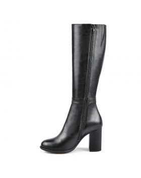 Черни дамски елегантни ботуши Izzy в online магазин Fashionzona