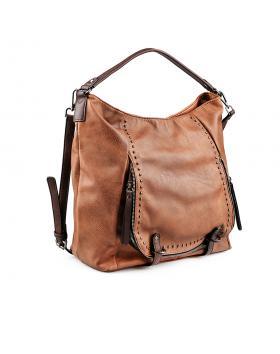 Кафява дамска ежедневна чанта Nineta в online магазин Fashionzona