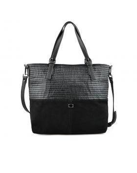 Черна дамска ежедневна чанта Birdie в online магазин Fashionzona