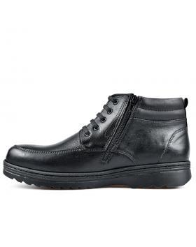 Черни мъжки ежедневни боти с топъл хастар Tajo в online магазин Fashionzona