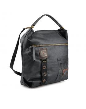 Черна дамска ежедневна чанта Angeliyah в online магазин Fashionzona