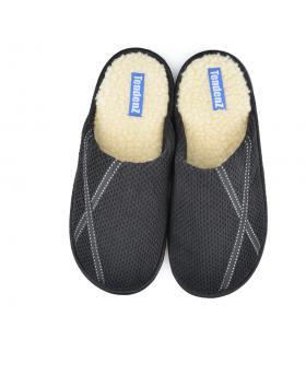 Черни мъжки пантофи Jerold в online магазин Fashionzona