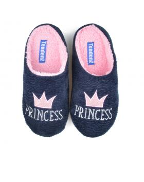 Сини дамски пантофи Yoana в online магазин Fashionzona