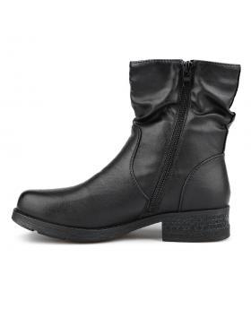 Черни дамски ежедневни боти с топъл хастар Pamina в online магазин Fashionzona