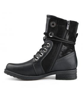 Черни дамски ежедневни боти с топъл хастар 0135673 Maizie в online магазин Fashionzona