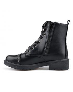 Черни дамски ежедневни боти с топъл хастар 0135191 Malha в online магазин Fashionzona