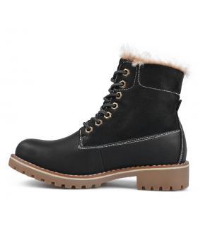 Черни дамски ежедневни боти 0135722 Agueda в online магазин Fashionzona