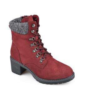 Червени дамски ежедневни боти 0135700 Stefania в online магазин Fashionzona