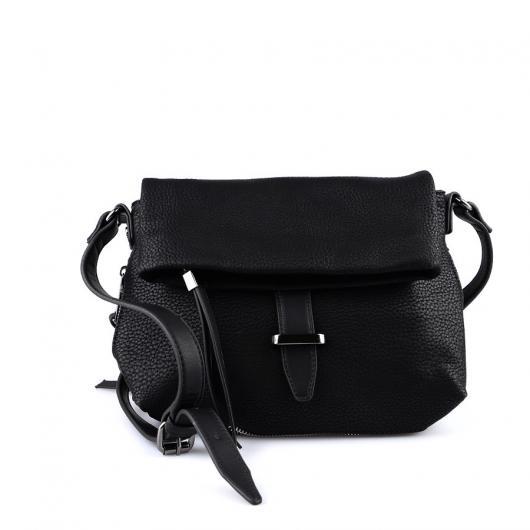 Черна дамска ежедневна чанта Nereida
