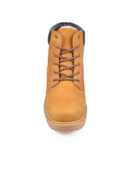 Кафяви мъжки ежедневни боти с топъл хастар 0135121 в online магазин Fashionzona