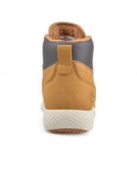 Кафяви дамски ежедневни боти с топъл хастар 0136304 Clarrie в online магазин Fashionzona