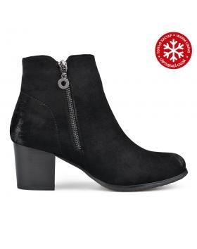 Черни дамски елегантни боти с топъл хастар 0135289 Merla в online магазин Fashionzona