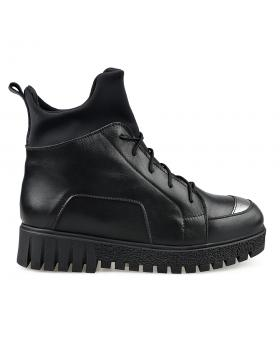 Черни дамски ежедневни боти 3066 Sharee в online магазин Fashionzona