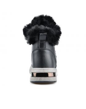 Черни дамски ежедневни боти с топъл хастар 0136054 Cherrelle в online магазин Fashionzona