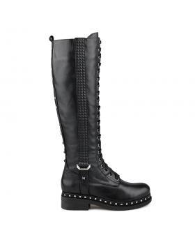 Черни дамски ежедневни ботуши Shannon в online магазин Fashionzona