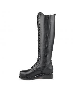 Черни дамски ежедневни ботуши 0136156 в online магазин Fashionzona