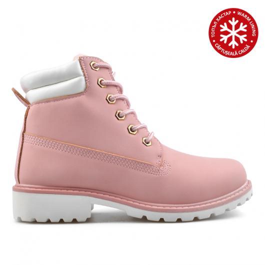 Розови дамски ежедневни боти 0135222 Max