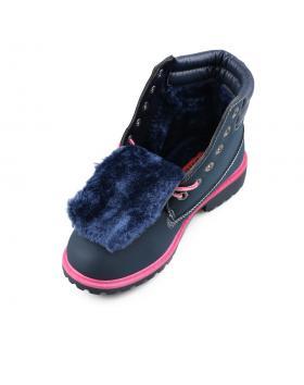 Сини дамски ежедневни боти Bobbie-Jean в online магазин Fashionzona