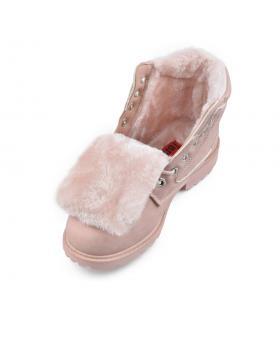 Розови дамски ежедневни боти Laverna в online магазин Fashionzona
