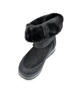 Черни дамски ежедневни боти Kamini в online магазин Fashionzona